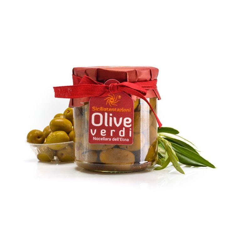 Olives vertes nocellara